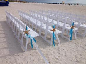 Starfish Chair Decor (Rental)