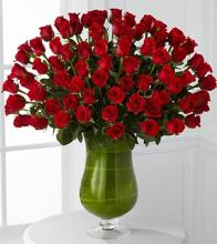 Attraction Luxury Rose Bouquet-24-in Premium Long-Stemmed Roses