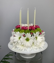 Sweetest Birthday Flower Cake