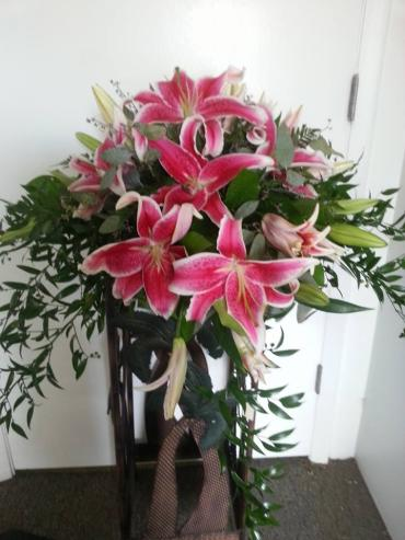 Stargazer Head/Sweetheart Table Arrangement
