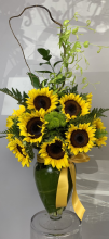Stunning sunflowers